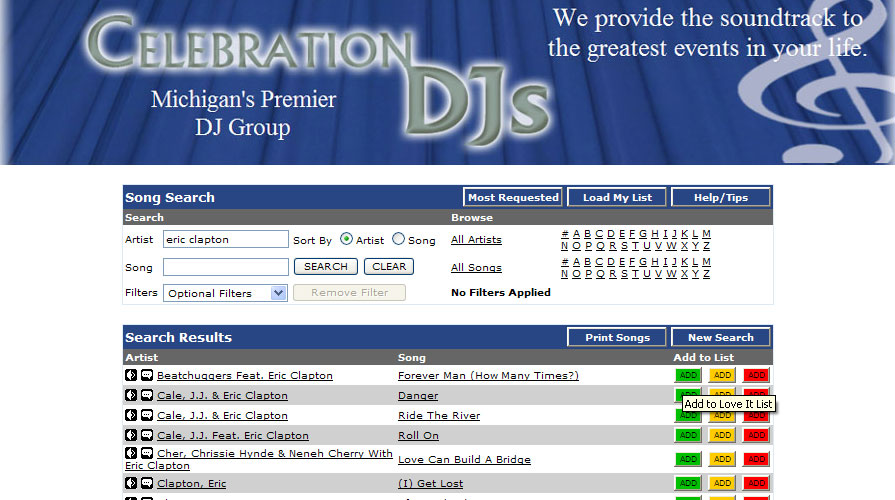 Schedule Celebration Djs For Your Event Music