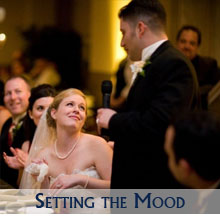 Set the Mood at Your Wedding Reception