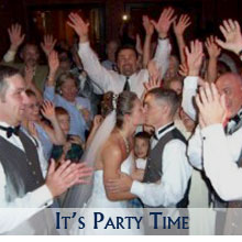 The Wedding Party goes All Night